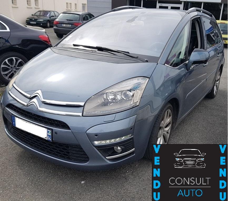 Citroën grand C4 PIcasso 1.6 hdi 110 cv 7 places