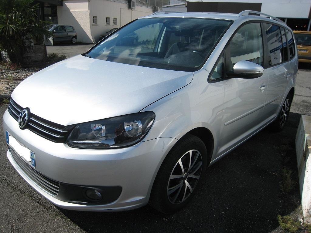 Volkswagen Touran 2.0 tdi 140 cv confortline avec GPS 7 places